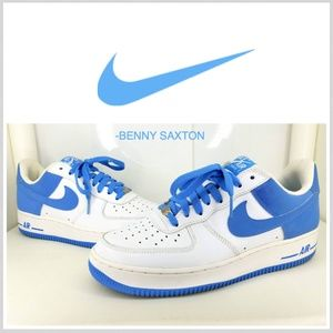 Nike Air Force One Low University Blue/White 2005
